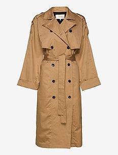 MiaGZ coat MA20 - trencze - tannin