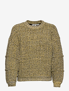 StephiGZ pullover MA20 - trøjer - yellow black melange