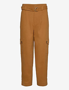 BaniGZ pants MA20 - straight leg trousers - rubber