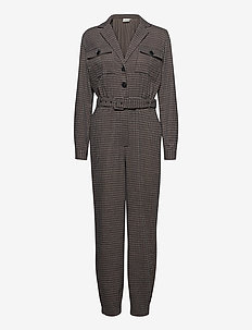 VivGZ jumpsuit MA20 - jumpsuits - brown check