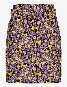 CameaGZ skirt - midi skirts - yellow splash