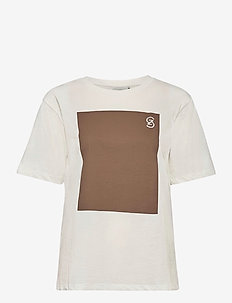 Mynagz tee MA20 - logo t-shirts - bright white