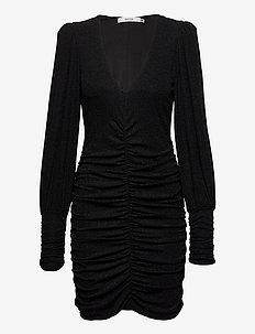 ChaiaGZ slim dress YE20 - sukienki do kolan i midi - black