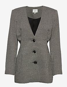 LidaGZ blazer YE20 - blezery - black/white