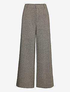 LidaGZ pants YE20 - spodnie - black/white