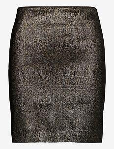 WillowGZ skirt YE20 - ołówkowe spódnice - gold glitter