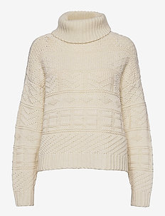 HanaGZ rollneck YE20 - turtlenecks - turtledove