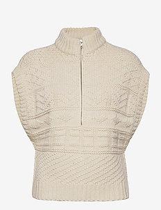 HanaGZ ss pullover YE20 - vester - turtledove
