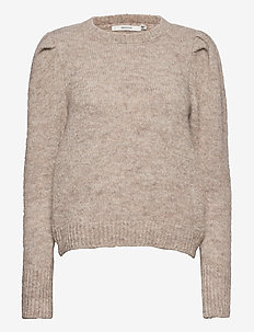 DoaGZ pullover SO21 - jumpers - tannin melange