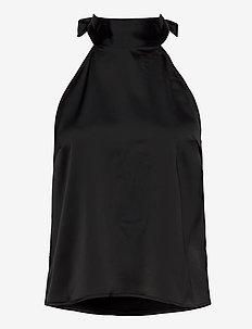 RosalieGZ halterneck YE20 - bluzki bez rękawów - black
