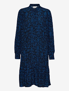 LoraliGZ dress - shirt dresses - blue black vintage