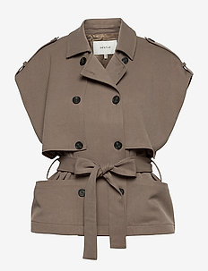 AbiGZ waistcoat SO21 - puffer vests - earth