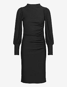 RifaGZ puff dress - sukienki do kolan i midi - black