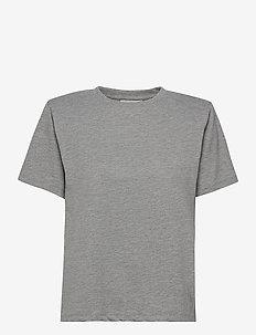 JoryGZ tee - t-shirts - grey melange