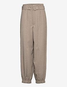 ViraGZ pants SO21 - suorat housut - walnut