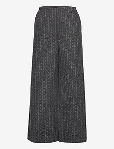 RoyaGZ culotte SO21 - vida byxor - dark grey pinstripe