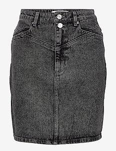AleahGZ mini skirt SO21 - denimnederdele - storm grey