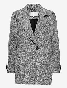 LucilaGZ coat MS21 - villakangastakit - herringbone dusty green