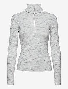 LiaGZ rollneck MS21 - trøjer - off white melange