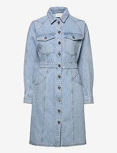DacyGZ LS dress MS21 - robes chemises - light blue vintage