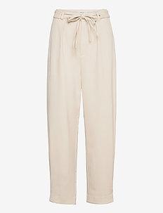 KlaraGZ HW pants - casual trousers - moonbeam