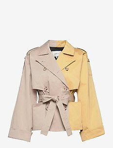 MaiGZ short trenchcoat - trenchcoats - pure cashmere