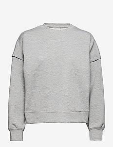 ChrisdaGZ MEL sweatshirt - sweatshirts - light grey melange