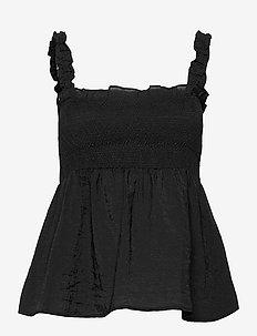 IonaGZ singlet - Ærmeløse bluser - black