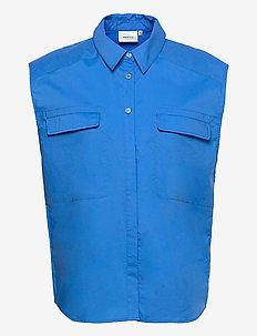 DimmaGZ SL shirt - denimskjorter - french blue