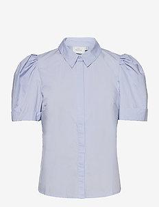 HalioGZ ss shirt - kortærmede skjorter - xenon blue