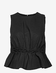 SoriGZ sl top - Ærmeløse bluser - black