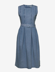 AlbaGZ midi dress - sommerkjoler - light blue