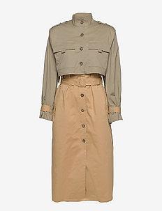 SifGZ coat - trenchcoats - sahara dust