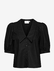 BrietGZ ss shirt - kortærmede bluser - black