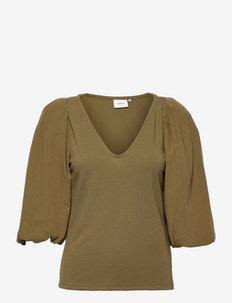 NemaGZ blouse - langærmede bluser - capers