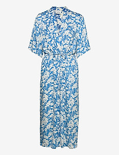 LaiaGZ kimono - kimonoer - mini blue flowe aop