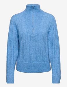 AlphaGZ R zipper pullover - rullekraver - little boy blue