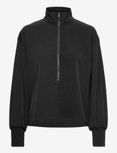 SigridGZ blouse - langærmede bluser - black