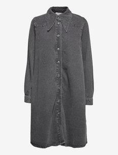 IsabelleGZ shirt dress - sommerkjoler - vintage black wash