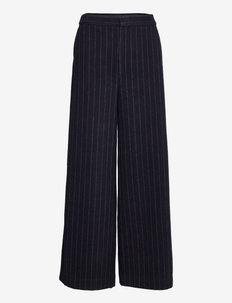 RemiGZ HW pants - uitlopende broeken - sky captain pinstripe