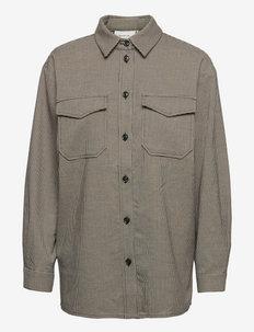 MarisolGZ shirt - denimskjorter - black/white houndstooth