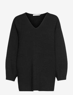 TalliGZ V-pullover - trøjer - black