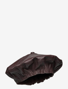 SallyGZ baret - hatte - croco coffee bean