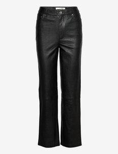 LuliGZ HW pants - skinnbyxor - black
