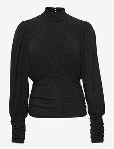 MeifenGZ blouse - langärmlige tops - black
