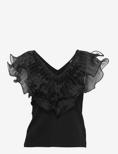 MistGZ sl top - Ærmeløse bluser - black