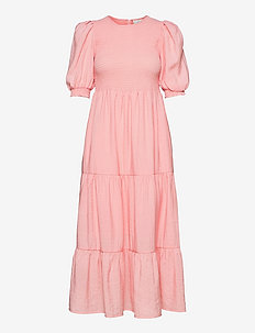 MazziGZ ss dress - sommerkjoler - silver pink
