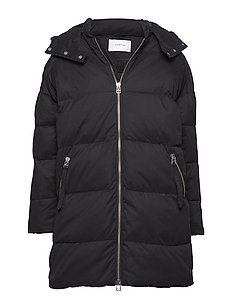 Kanna coat MA18 - BLACK