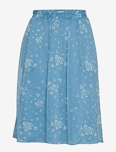 CindyGZ skirt AO19 - midi skirts - blue clover hart