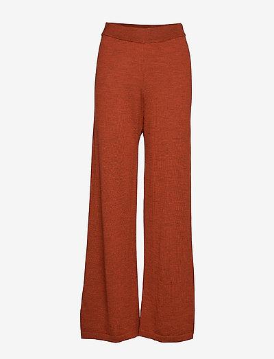 ThelmaGZ culotte AO19 - bukser med brede ben - rooibos tea melange
